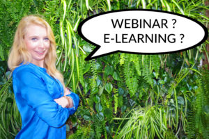 Webinar vs. E-Learning